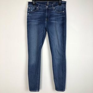 7 for All Mankind Ankle Gwenevere Skinny Jeans 29